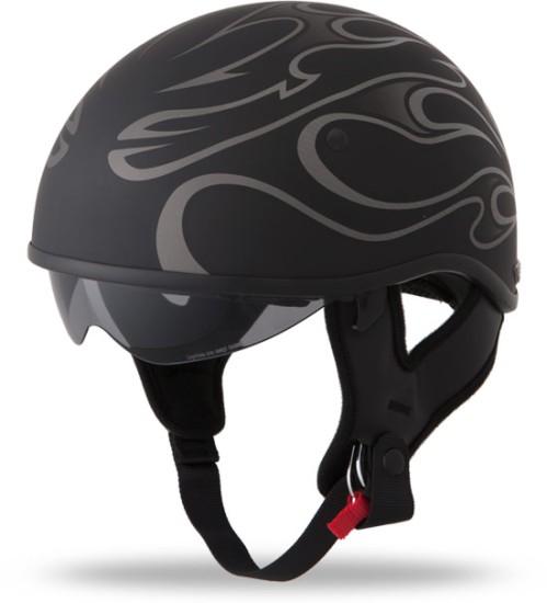 Scooter Helmet with Sun Visor