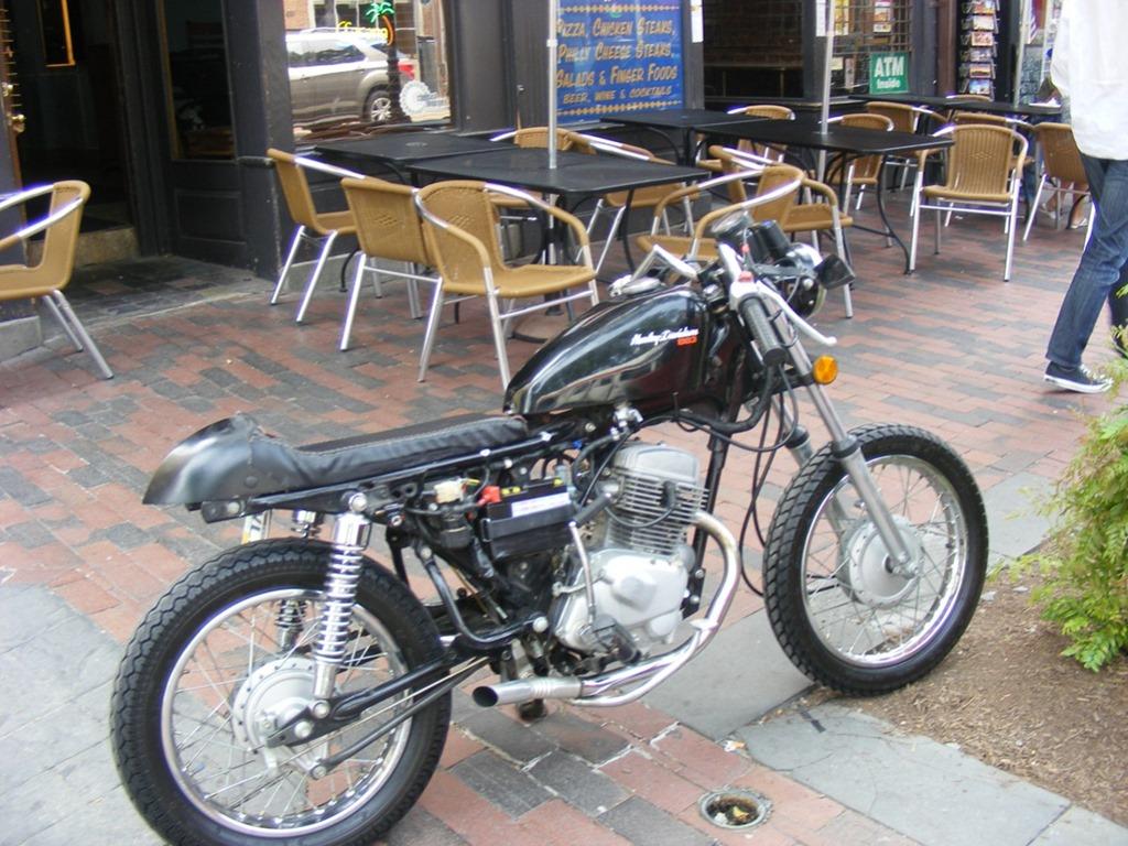 Sym Wolf 150 Cafe Racer